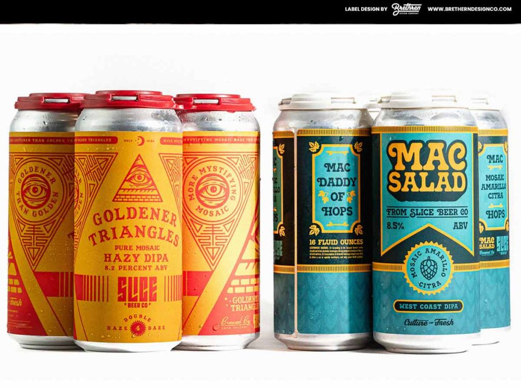 Beer Can Labels - Custom Craft Beer Can Labels - Beer Labels - Labels for Beer Cans